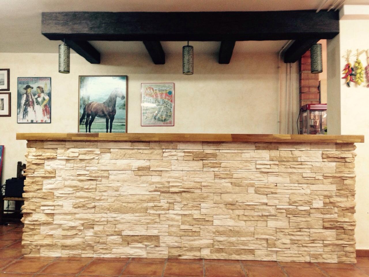 Construcci n de barra de bar - Barra de bar salon ...